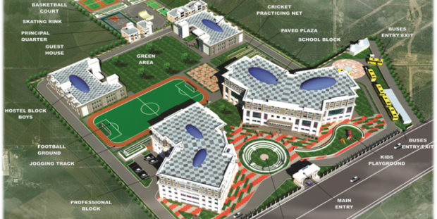 Hostels in schools by central government of India