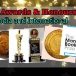 Major awards given by the government of India