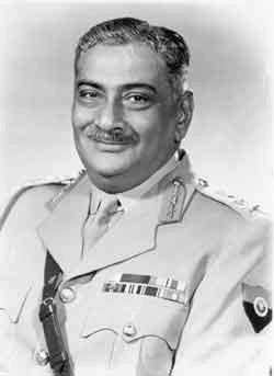 The first Chief of Army Staff (Maharaj Shri Rajendrasinhji Jadeja)