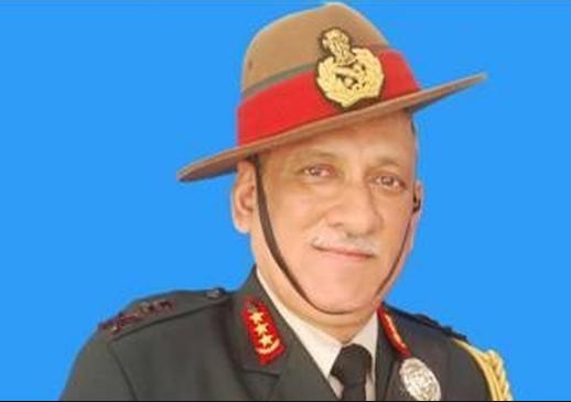 Lt Gen Bipin Rawat (Chief of Army Staff in India)