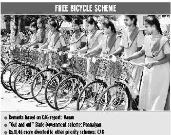 Free Bicycle Scheme Tamil Nadu for SC/ST Students