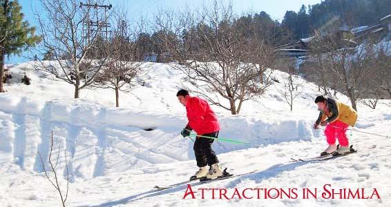 List of Shimla (Himachal Pradesh) Tourist Places to Visit