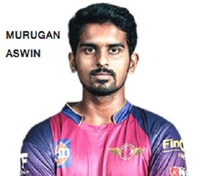 मुरूगन अश्विन का जीवन परिचय | Murugan Ashwin Biography in hindi
